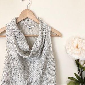 DREW | Knit Open Back Cowl Neck Sweater Tank